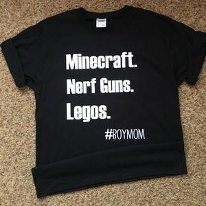 Tops - Minecraft Boymom Tshirt